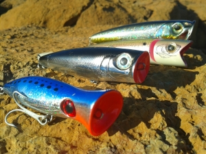 Popper ιδανικά για να διεγείρουν τα νωχελικά κυνηγιάρικα ψάρια